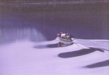 Canoe departure