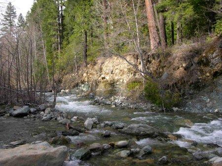 I-2A – Main Indian Creek Gold Claim at Huey Mine