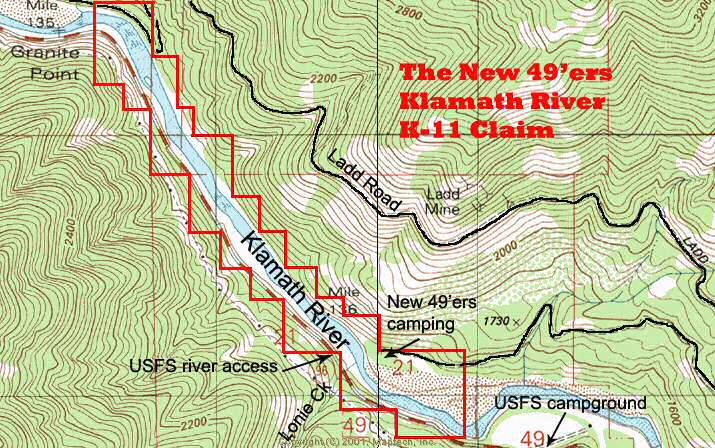 K-11 Topographical Map