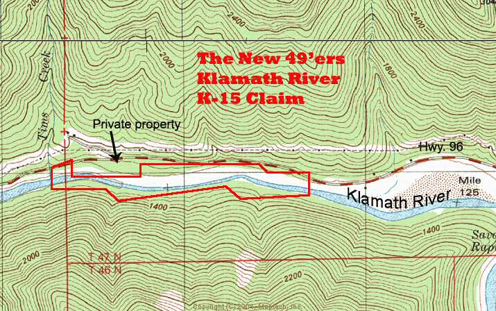 K-15 Topographical Map