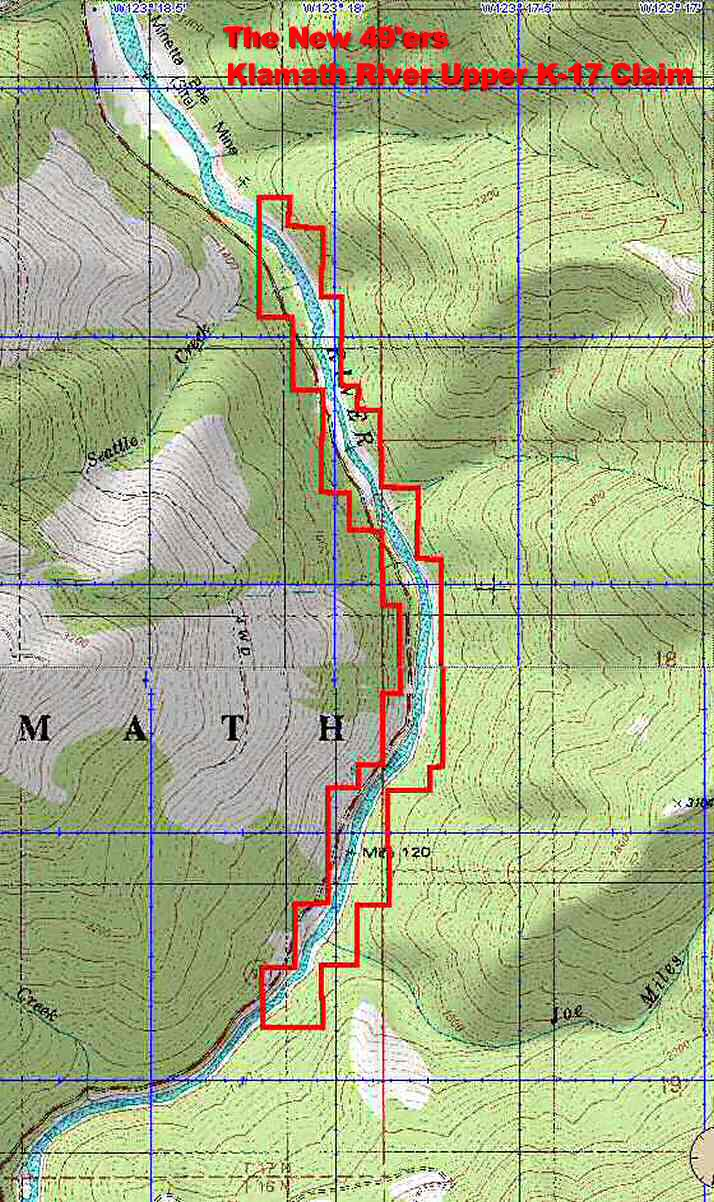 K-17 Topographical Map