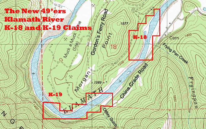K-19 Topographical Map