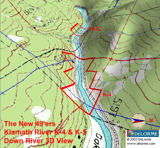 K-4 - Oak Bar Claims - Down River View