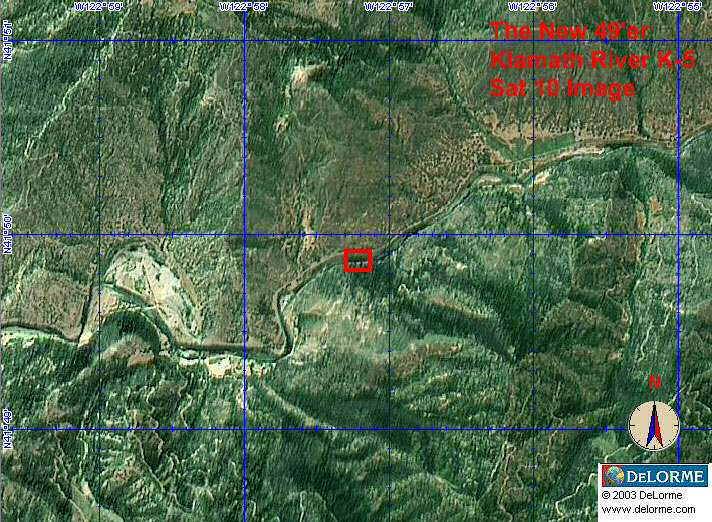 K-5 - Ten Spot Claim - Satellite View