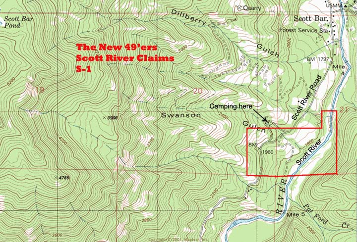 S-1 Topographical Map