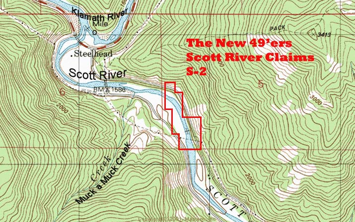 SAN-1 Topographical Map