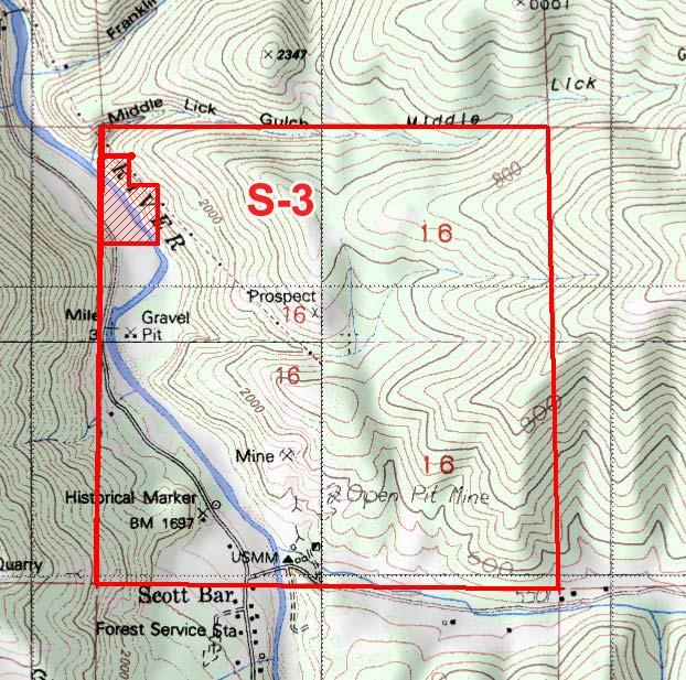 S-3 Topographical Map