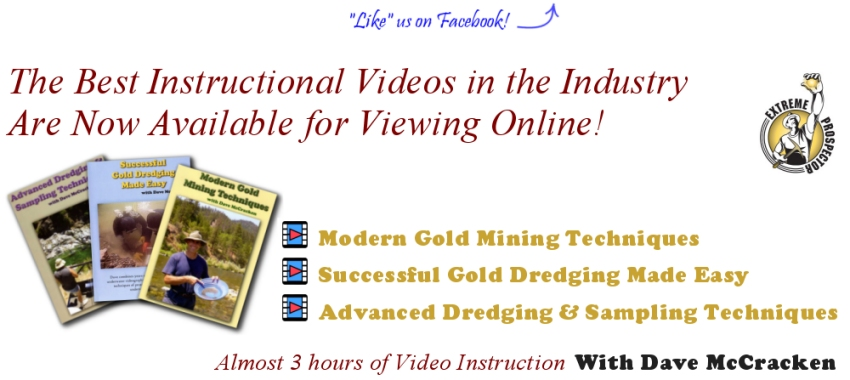 Extreme Prospector Training Videos