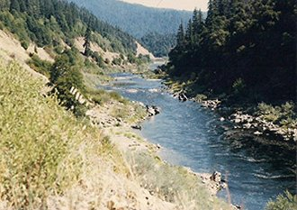 Middle Independence Gold Claim is the richest section of the entire Klamath River!