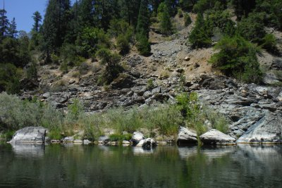 lots of bedrock