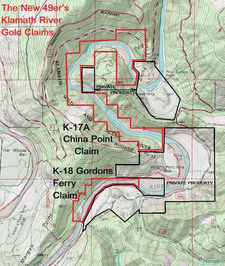 K-17A Topographical Map