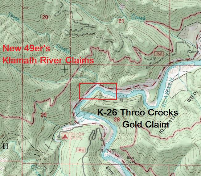 K-26 Three Creeks topo