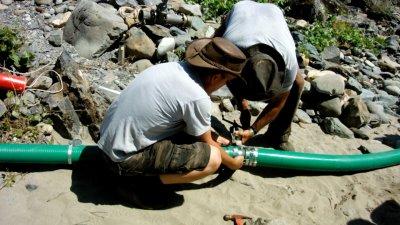 Banding hoses